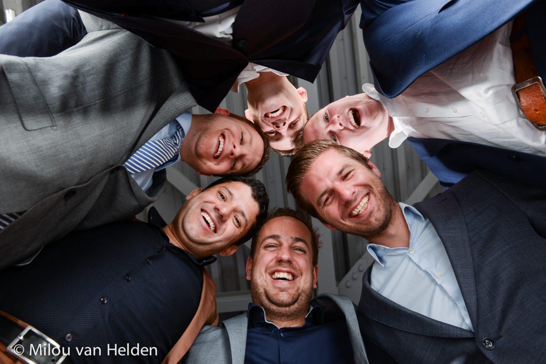 Groeps fotoshoot